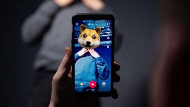 મોબાઇલ ફોન પર ટીક ટૉક