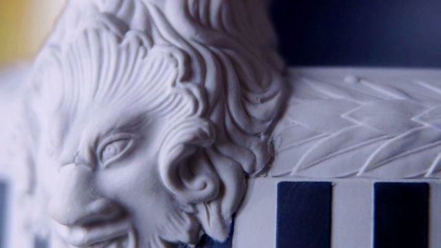 Detalle de porcelana