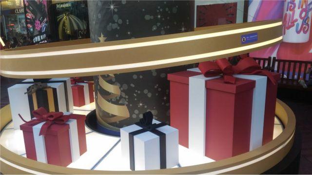 聖誕節對台灣的百貨和零售業者而言是一個重要的日子。