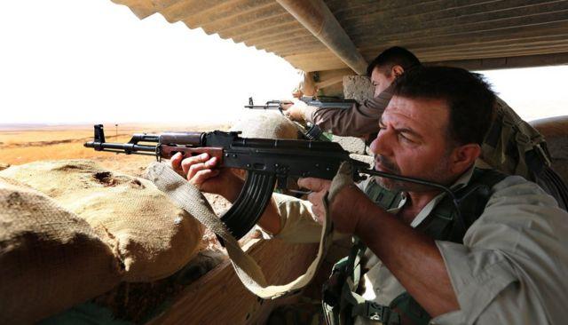 Kürd Peşmərgə qüvvələri Mosul uğrunda İD-yə qarşı vuruşa hazırlaşır