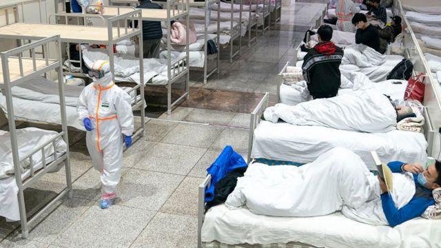 больница в Ухане