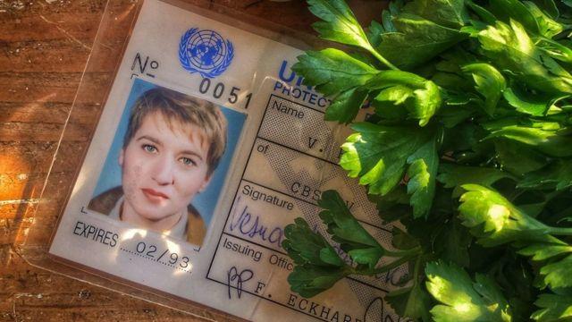Novinarska legitimacija Vesna Almog