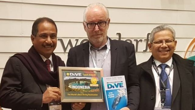 Penghargaan best diving destination