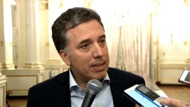 अर्जेंटीना के वित्त मंत्री निकोलस