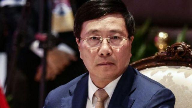 Phó Thủ tướng Chính phủ, Bộ trưởng Bộ Ngoại giao Việt Nam Phạm Bình Minh