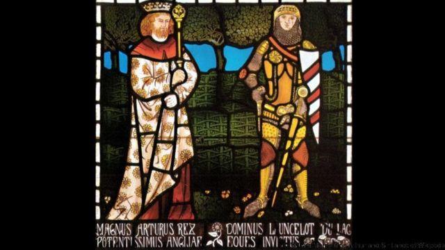 Король Артур і сер Ланселот, 1862 р.