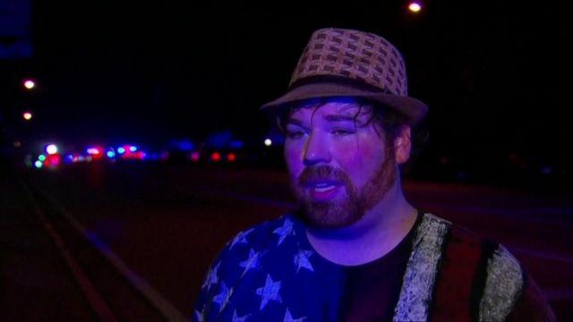 Christopher Hansen relembrou momentos de terror após homem abrir fogo em local na madrugada de domingo