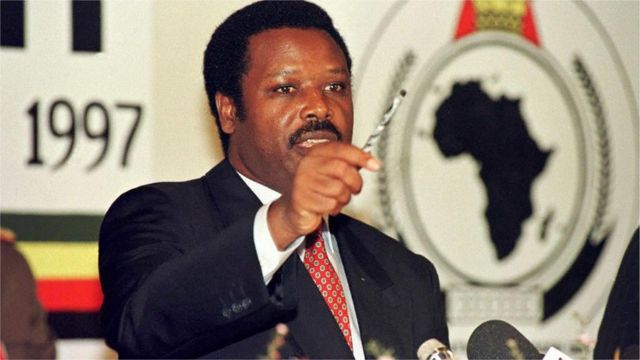 Pierre Buyoya, ancien président du Burundi