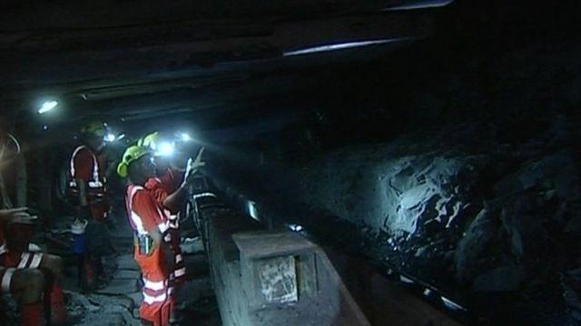 Miners at Kellingley