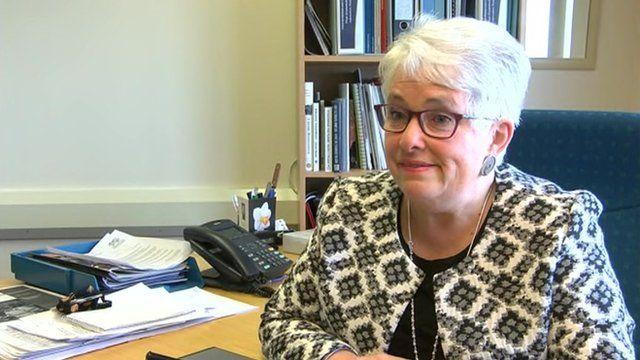 Ceredigion council leader Ellen ap Gwynn