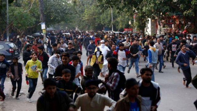 नागरिकता संशोधन क़ानून के ख़िलाफ़ विरोध प्रदर्शन