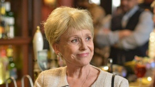 Peggy Mitchell in final episode