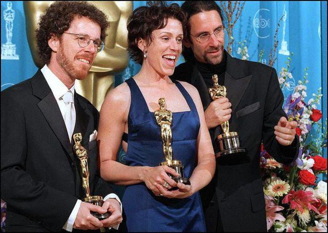 """За фильм """"Фарго"""" братья получили """"Оскара"""" за лучший сценарий, а Фрэнсис Макдорманд - за лучшую женскую роль"""