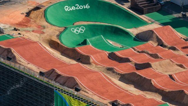 Pista BMX en Río