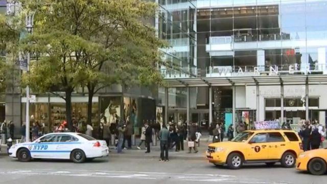 El edificio de Time Warner en Nueva York fue evacuado.