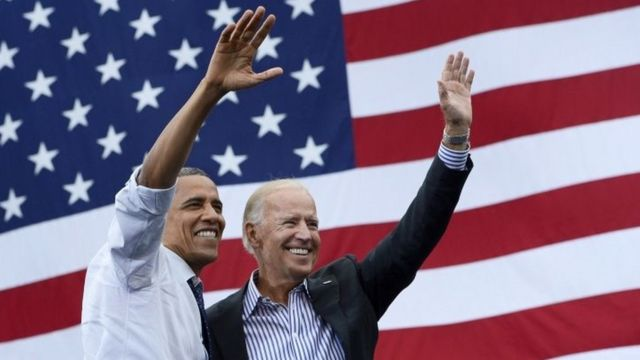 Barack Obama iyo Joe Biden