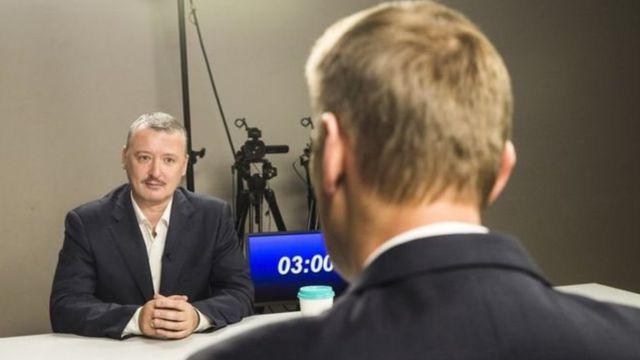 Стрєлков і Навальний