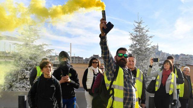 اعتراضات مارسی اول دسامبر 2018