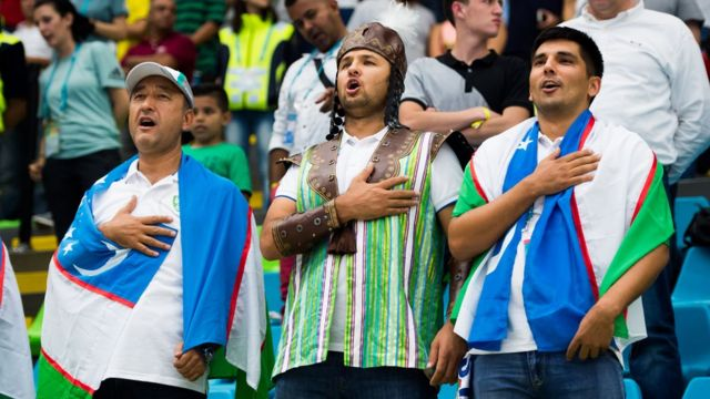 Ўзбекистонлик футбол ишқибозлари