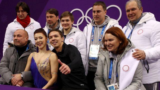 Екатерина Боборова и Дмитрий Соловьев