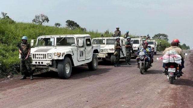 Las fuerzas de seguridad fueron desplegadas en la zona donde se produjo el ataque.