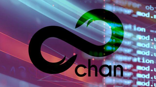 лого сайта 8chan