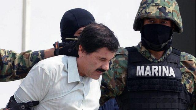 la captura del Chapo Guzmán.
