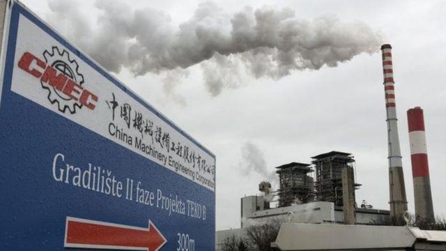 Trung Quốc, ô nhiễm, nhiệt than, Serbia