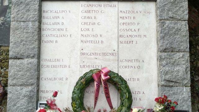 Memorijalna ploča sa imenima nastradalih