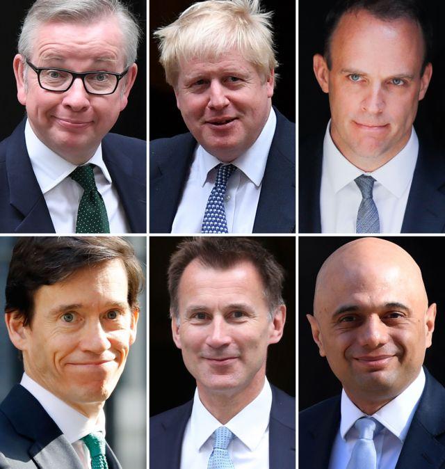 кандидаты на пост лидера Консервативной партии перед вторым туром