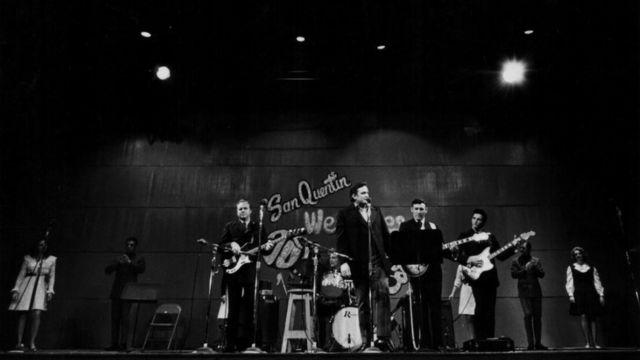 Легендарный концерт в тюрьме Сан-Квентин, 24 февраля 1969 года.