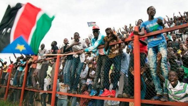 Les supporters du Sud-Soudan ont fêté deux victoires contre les Seychelles lors des éliminatoires de la Coupe d'Afrique des Nations 2021