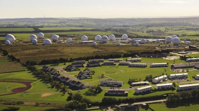 RAF Menwith Hill: Base in bid for extra radar antenna shelters