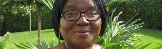 'Yar jaridar Ghana Elizabeth Ohene.