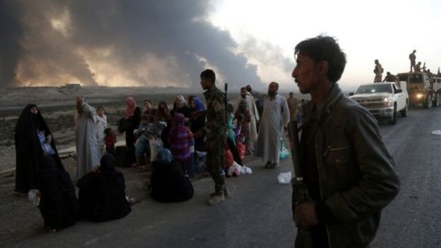Kiyasi ya nuna akwai 'yan IS guda 5,000 a rabe a birnin na Mosul