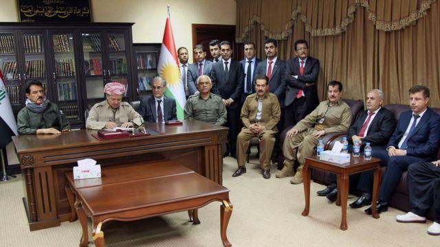يصر المسؤولون الأكراد على المضي قدما في ترتيبات الاستقتاء رغم رفض حكومة بغداد
