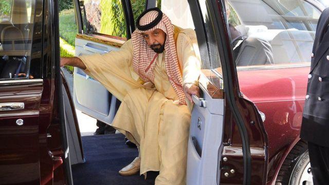 Presiden Sheikh Khalifa bin Zayed