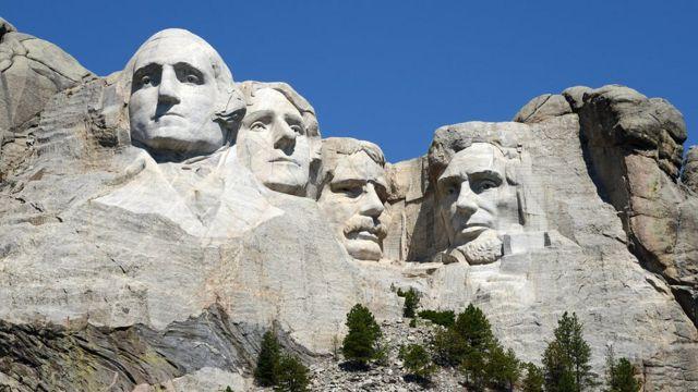 El Monumento Nacional Monte Rushmore