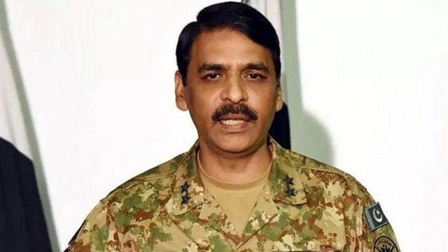 પાકિસ્તાની સેનાના પ્રવક્તા મેજર જનરલ આસિફ મસૂદ