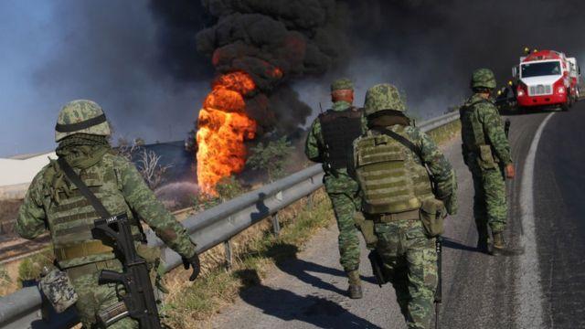 Explosión de gas