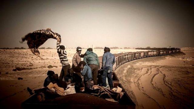 """НА """"Поезде пустыни"""""""