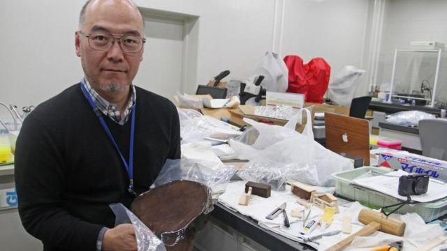 El paleoclimatólogo Takeshi Nakatsuka