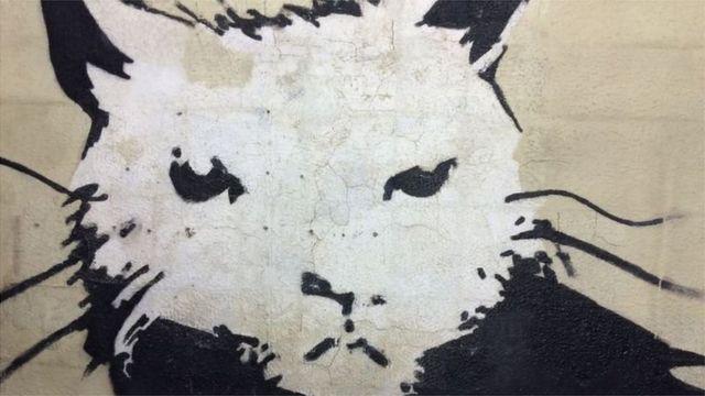Banksy - Beyaz Saray Sıçanı