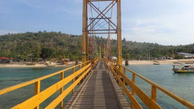 इंडोनीशिया झूला पुल