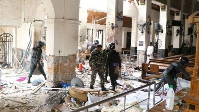 श्रीलंका, दहशतवादी हल्ला