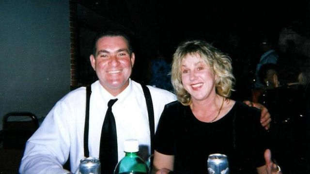 Teresa y Larry Clark, de Waynesboro, VA,
