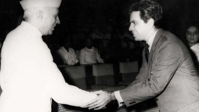 انڈیا کے پہلے وزیر اعظم جواہر لعل نہرو اور دلیپ کمار