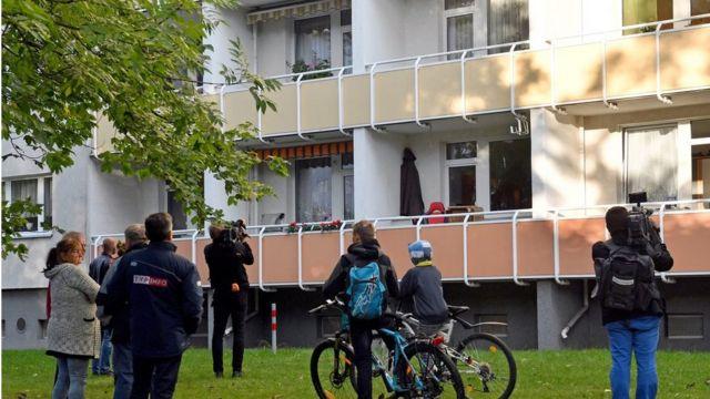 Chemnitz police raid, 9 Oct 16