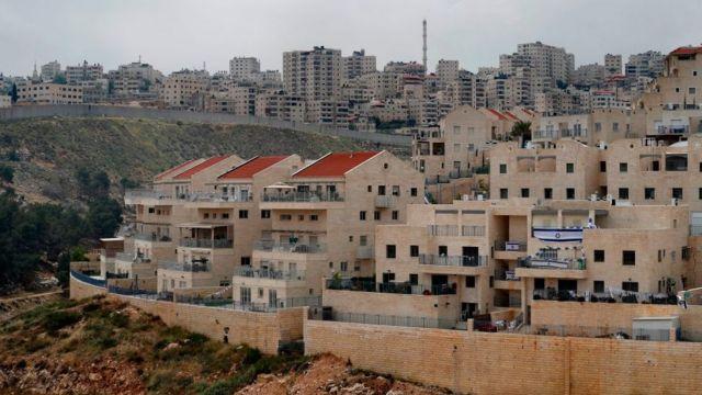 Asentamientos judíos en Jerusalén Este.