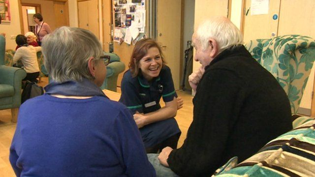 Sobell House hospice patients